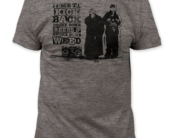 Clerks Time To Kick Back Mens T-Shirt (CRKS03)