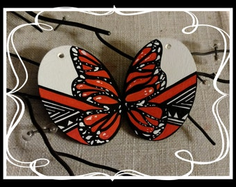 how to make butterfly string art