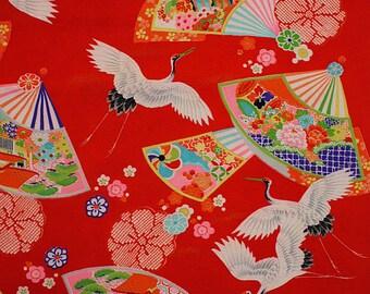 Japanese old fabrics, vintage textile, cotton