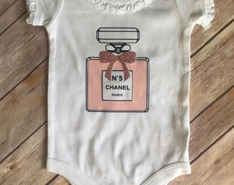 Chanel No 5 Perfume inspired outfit for Girls