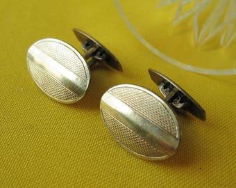 Vintage Russian CUFFLINKS Soviet Retro USSR Jewelry Collectible jewelry