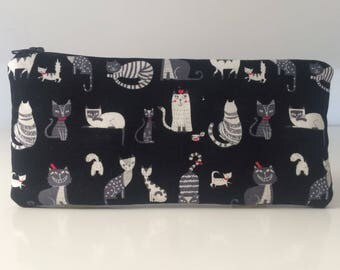Cat pencil case