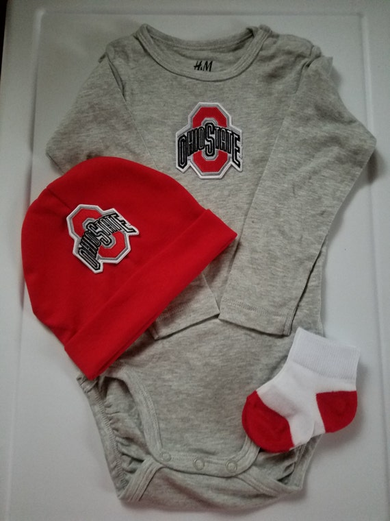 ohio state t set ohio state onesie Ohio State outfit