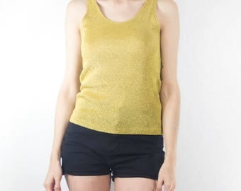 Yellow Gold Vintage Fancy Tank
