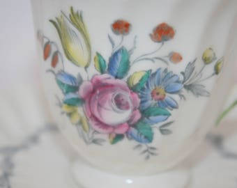 Royal Doulton The Chelsea Rose Demitasse Teacup and Saucer