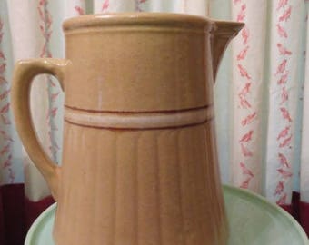 Red Wing Saffron Ware Pitcher