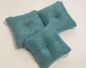 12 Scale Mint Suede Feature Cushion