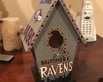 Baltimore Ravens Birdhouse
