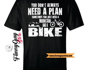 Mountain Bike Shirt Cyclist Gift Ideas Bicycle Gift Bicycle Lovers Gift Mens Cyclist Gift Bicycle T-shirt Shirt With Saying Funny Tshirts