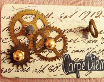 steam punk brooch