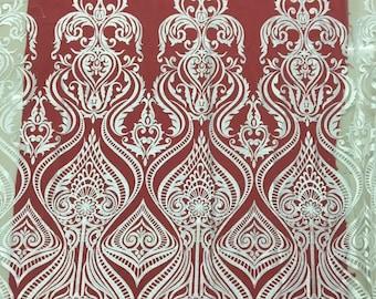 Wedding Lace Fabric, Bridal Fabric, Wedding Dress Fabric, Embroidered Lace Fabric, French Lace Fabric, Bridal Lace By the yard