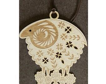 """Wooden bookmark zodiac """"Aries"""""""