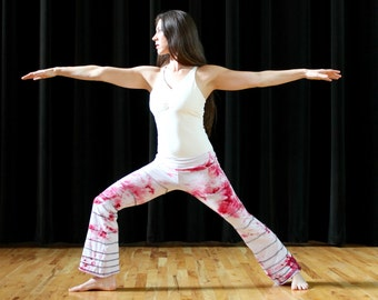 Ice Dyed Wide Leg Yoga pant