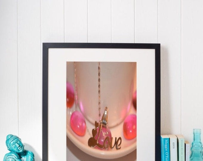 HUGE SALE EVENT floral love, floral wall art, flower wall art, love wall art, valentine wall art, valentines art gift, art gift idea, pho...