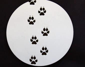 Coaster animal paw (model 17)
