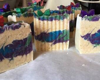 Butterfly Garden handmade artisan soap