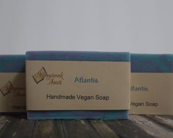 Atlantis Cold Process Vegan Soap