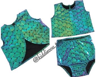 Mermaid 2 piece set