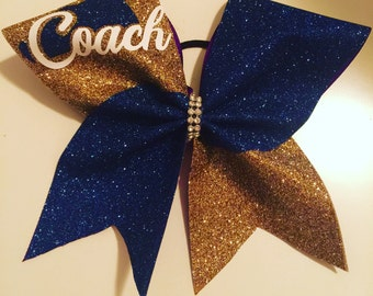 Cheer coach Bow