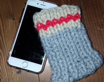 Wool sock style iphone case
