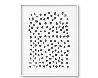 Wall Art, Abstract Art Print, Printable Art, Black and White Print, Abstract Print, Modern Art, Minimalist Art, Digital Download, Art Print