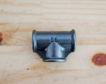 "Fitting plumbing cast-iron black WA T 15 / 21mm (1/2 "") or 20 / 27mm (3/4"") or 26 / 34mm (1 "")"