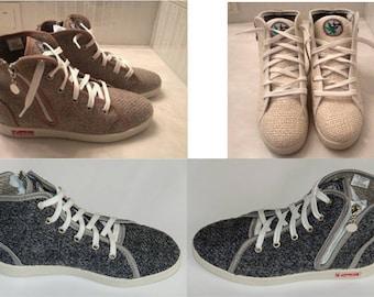 Hemp Sneakers  KREDO / size 4-11 US / Ukrainian shoes/ organic