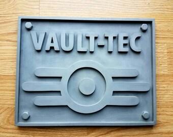 Fallout 4 Vault-Tec Sign/Plaque
