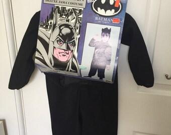 1992 Batman Returns Catwoman Deluxe Jama toddler costume Michael Keaton Michelle Pfiffer