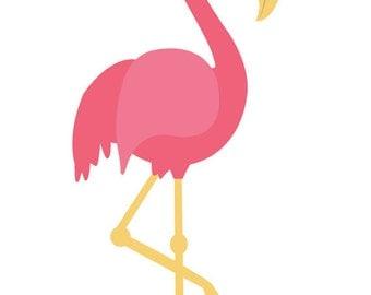 Flamingo Clip Art, Summer, Beach, Pink, Bird