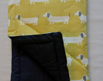 Dog bed, travel bed, out and about dog mat