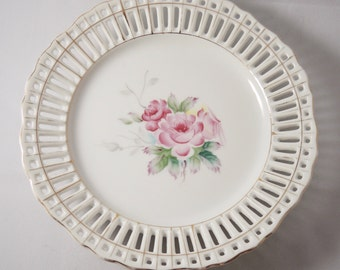 Plate / assiette made in Occupied Japan 1940/50