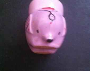 VINTAGE EGG CUP A Pig ?