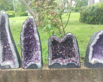 Pick and Choose! Amethyst Geode Cathedrals around 44lbs - great mineral specimens