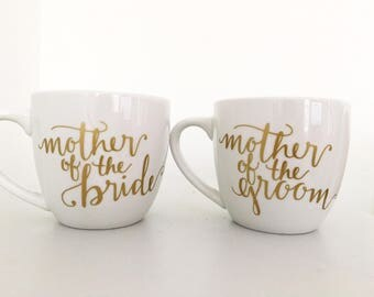 Mother of the Bride Mug, Mother of the Groom Mug, Wedding Gifts, Mother of the Bride Gift, Mother of the Groom Gift, Thank you Gifts