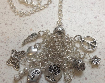 Silver LOVE Cluster Planner Charm.