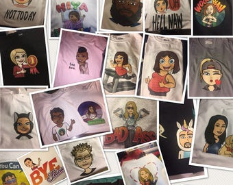 Custom Bitmoji Shirts