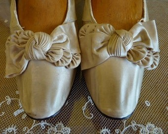 1888 Bridal Shoes, Victorian Shoes, Antique Shoes, Wedding, antike Schuhe, Frankfurt on the Main