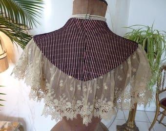 1880 Shoulder Scarf, antique shawl, victorian Dress, Gown