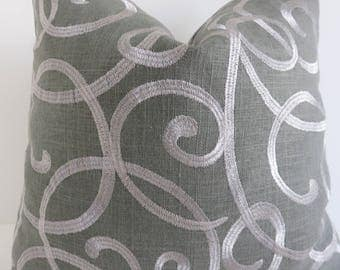 dark grey silver pillow covers grey silver pillow covers grey pillow covers pillow