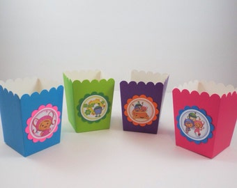 15 Team Umizoomi Birthday Bags, Team Umizoomi  Popcorn Bags, Team Umizoomi Party Bags, Candy bags, Snacks Bags, Goodie Bags, Party Favor Bag