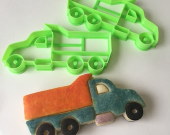 Dump Truck Cookie Cutter Set