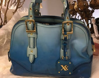 Blue Ombre Maxx purse