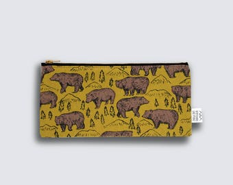 pouch - grezzly bears - medium