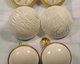 Lot of three pair Monet earrings  **Price Reduction**
