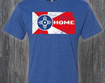 City of Wichita Flag Tee Shirts