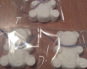 mild gentle teddy bath bombs