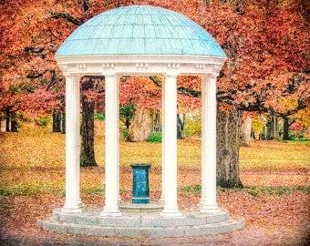 Old Well, UNC-Chapel Hill, North Carolina Photography, Tarheels, UNC Graduation, UNC Fine Art Print, Chapel Hill Photo, Old Well Photography