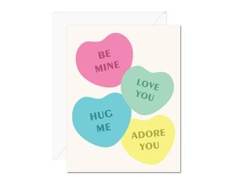 Sweethearts card