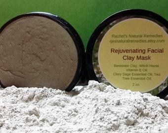 Rejuvenating Facial Mud Mask